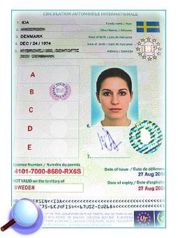 sp cimen permis de conduire international comment regarde les documents de conduire. Black Bedroom Furniture Sets. Home Design Ideas